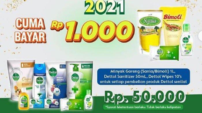Katalog Promo Indomaret 31 Maret 2021, Promo Minyak Goreng Cuma Seribu Hingga Promo Gratis