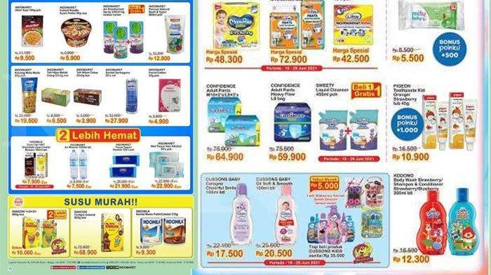 Daftar Promo Indomaret Hari ini, Diskon Sabun Mandi, Popok Bayi hingga Sereal, Sampai 22 Juni 2021