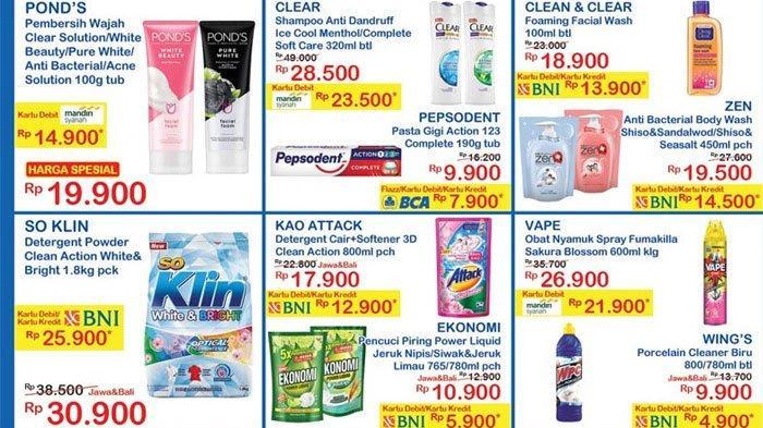 Katalog Promo Jsm Indomaret 23 25 Oktober 2020 Diskon Harga Shampoo Deterjen Hingga Mi Instan Tribun Madura
