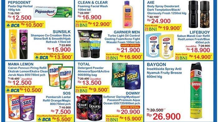KATALOG Promo Indomaret Minggu23 Agustus 2020, Minyak Goreng 2L Rp 23.900, Pepsodent Rp 10.500