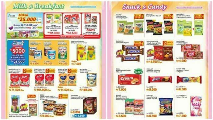 Katalog Promo Indomaret 19 Agustus 2020, Ada Minyak Goreng Murah, Produk Makanan Beli 2 Lebih Hemat