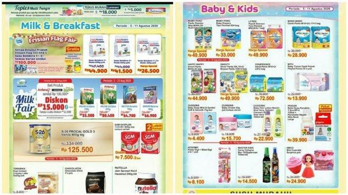 Katalog Promo Indomaret 5 Agustus 2020, Diskon Minyak Goreng, Detergen dan Camilan Beli 2 Gratis 1