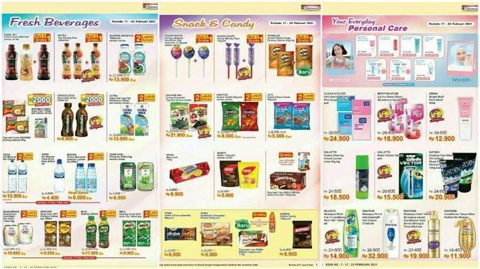 UPDATE Katalog Promo Indomaret 17 Februari 2021, Promo Sambut Bulan Ramadan, ada Promo Gratis