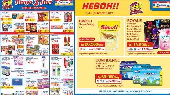 Harga Minyak Goreng Murah Rp 26.500 ada di Indomaret, ini Katalog Promo JSM Indomaret 26 Maret 2021
