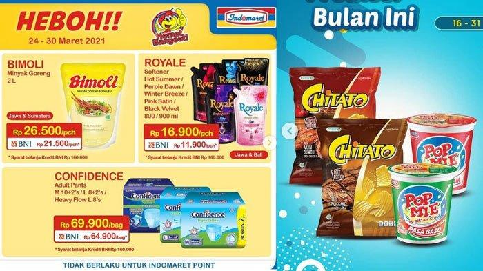 Katalog Promo JSM Indomaret 27 Maret 2021, Minyak Goreng Murah Hanya Rp 21.500 Juga Promo Gratis