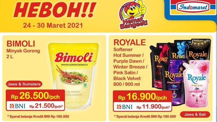 Katalog Promo Indomaret 24 Maret 2021, Promo Minyak Goreng Murah Rp 26.500 Hingga Promo Gratis