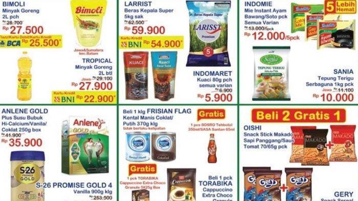 Katalog Promo Indomaret pada Sabtu 24 April 2021, Promo Minyak Goreng Murah Hingga Beras Murah