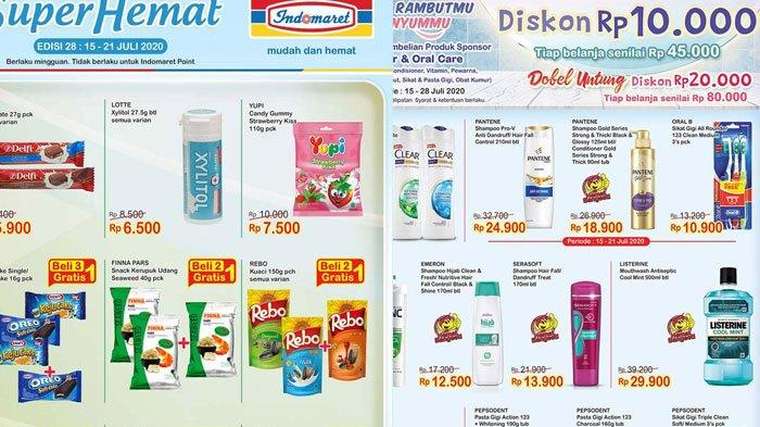 Promo Indomaret 15 Juli 2020, Belanja Makin Hemat Promo Beli 2 Gratis 1 dan Promo Tebus Murah