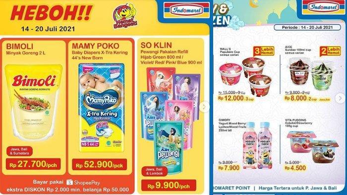 Promo dan Diskon Indomaret Selasa 20 Juli 2021, Promo ShopeePay Hingga Minyak Goreng Murah