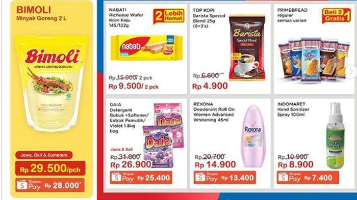 Daftar Promo Indomaret Senin 20 September 2021, Minyak Goreng Murah Hingga Promo Gratis Bikin Hemat