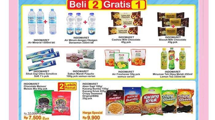 Promo Indomaret25Agustus 2020, Diskon Harga Popok Bayi, Telur Ayam hingga Produk Beli 2 Gratis 1