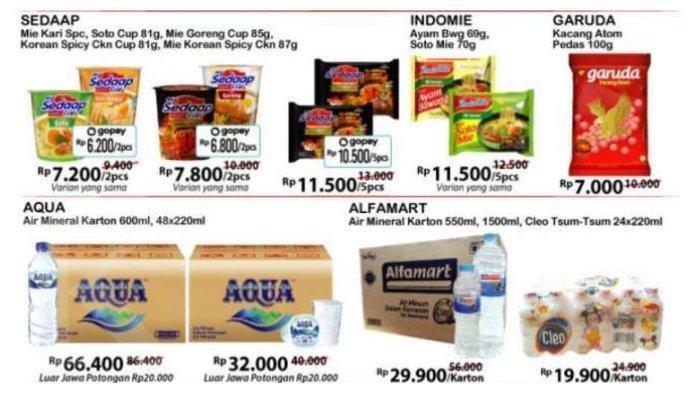 Daftar Promo JSM Alfamart dan Hypermart 17 Agustus 2020, Promo Merdeka Camilan hingga Minyak Goreng