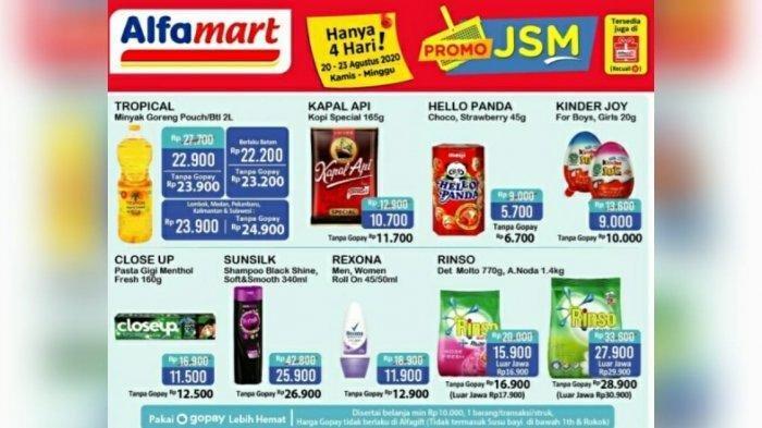 Katalog Promo JSM Alfamart 20 Agustus - 23 Agustus 2020 Diskon Beras, Susu dan Detergen Hanya 4 Hari
