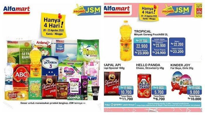 Katalog Promo JSM Alfamart 22 Agustus 2020, Ada Minyak Goreng Murah dan Paket Sembako Cuma Rp 45.000