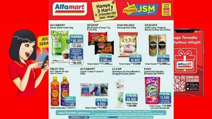Katalog Promo JSM Alfamart Jumat 18 Desember 2020, Belanja Hemat Minyak Goreng hingga Sampo Sunsilk