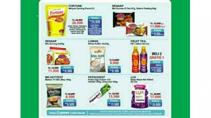 Katalog Promo JSM Alfamart, Promo Beras Murah dan Minyak Goreng Murah Menanti, Hemat Pakai Non Tunai