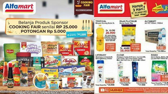 Katalog Promo JSM Alfamart 24 Januari 2021, Promo Gratis Hingga Promo GoPay dan ShopeePay