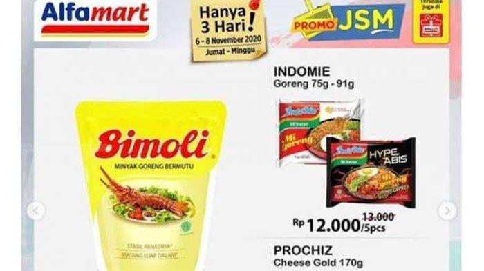 Promo JSM Alfamart6 - 8November2020, Promo Beli 2 Gratis 1 hingga Diskon Harga Minyak Goreng