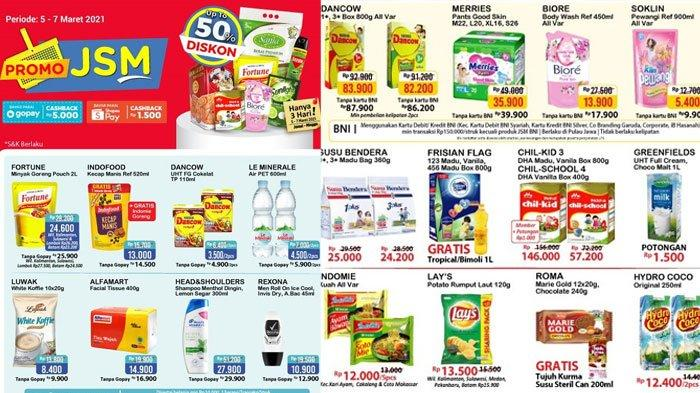 Promo Alfamart Sabtu 6 Maret 2021, ada Promo Gratis Minyak Goreng, Promo ShopeePay hingga GoPay