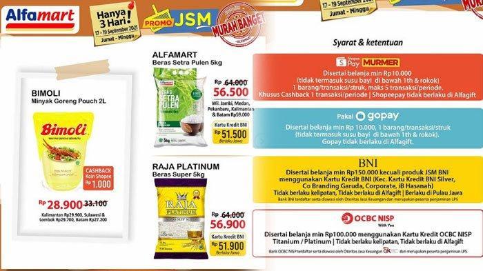 Katalog Promo Alfamart 17 September 2021, Promo Tebus Murah Hingga Promo Gratis Hadir Lagi