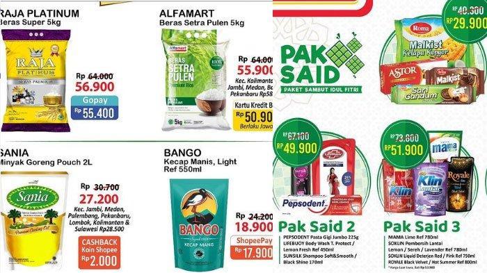 Daftar Promo Alfamart, ada Cashback Beli Minyak Goreng Murah Hingga Promo Gratis Sambut Idul Fitri