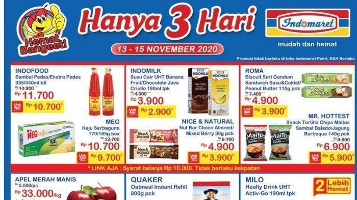Promo JSMIndomaret13 - 15 November,  Turun Harga Minyak Goreng, Beras Hingga Promo Tebus Murah