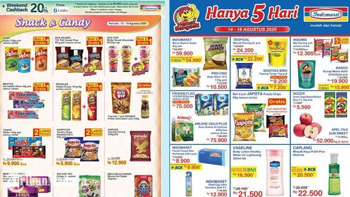 Katalog Promo Indomaret 14 Agustus 2020 Minyak Goreng Rp 22 200 Hingga Belanja Hemat Pakai Nontunai Tribun Madura