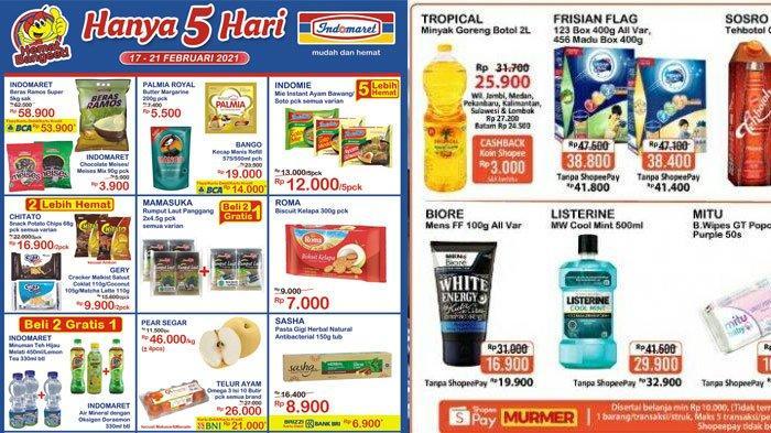 Daftar Promo JSM Indomaret dan Alfamart, ada Minyak Goreng Murah, Promo Gratis, Hingga ShopeePay