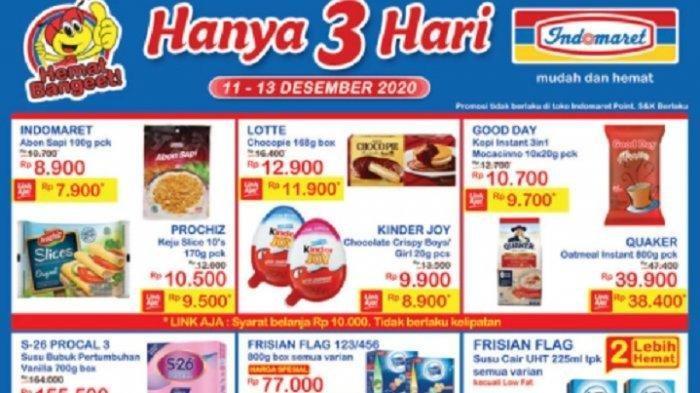 Promo JSM Indomaret Jumat 18 Desember 2020: Beras, Minyak Goreng, Susu hingga Deterjen Banting Harga
