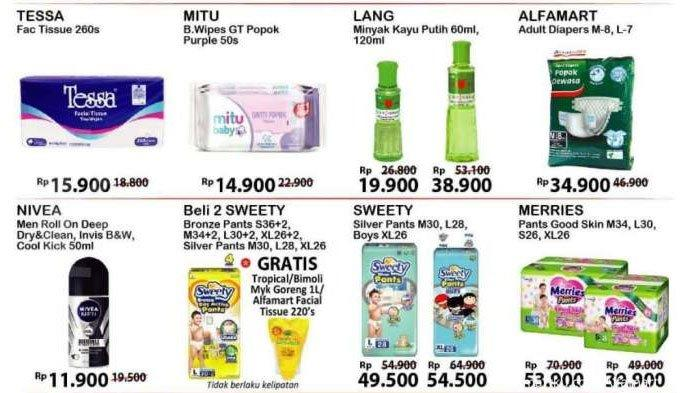 Katalog PromoAlfamart 31 Agustus 2020, Diskon Harga Deterjen hingga Minyak Kayu Putih Rp 19.900