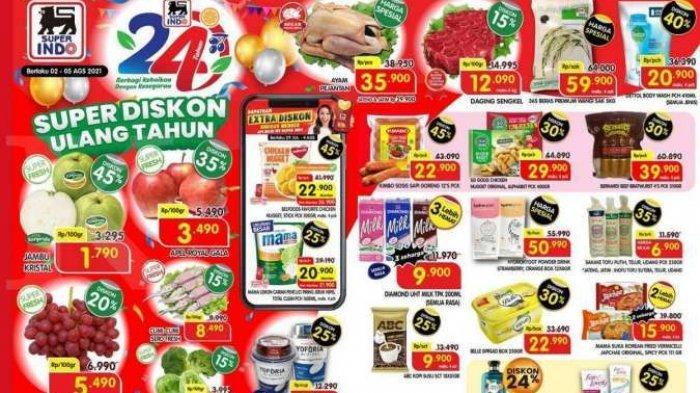 Promo Superindo Katalog Belanja Harian 4 Agustus 2021, Minyak Goreng Murah, Popok Bayi Diskon 40%