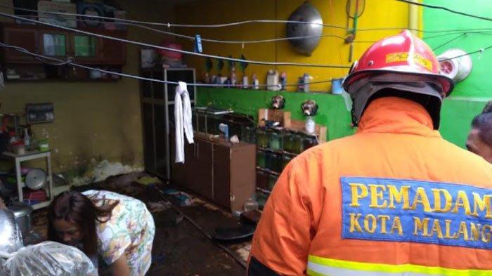 Gara-Gara Selang Regulator Elpiji Bocor, Rumah Warga ini Nyaris Terbakar, 1 Mobil Damkar Diterjunkan