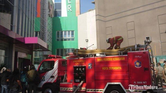 BREAKING NEWS -RSUD Dr Soetomo Surabaya Kebakaran, Muncul Kepulan Asap dari Basement