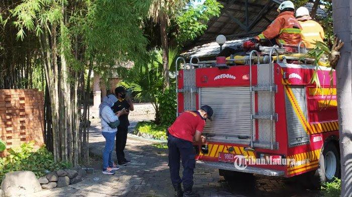 Restoran di Pagesangan Surabaya Terbakar, Api Mendadak Muncul dari Cerobong Asap Pembuangandi Dapur