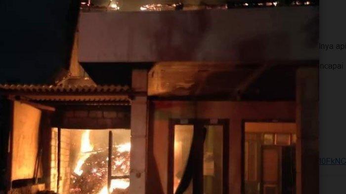 Kebakaran Rumah Abang Becak di Desa Tegalrejo Tuban Akibat Perapian di Tempat Pakan Ternak Sapi