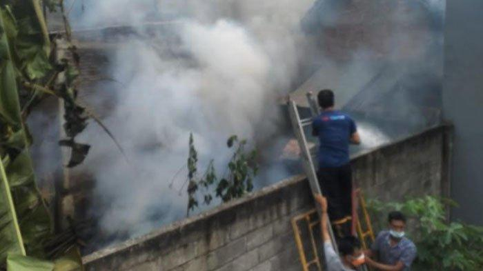 Kebakaran Rumah di Tulungagung, Dapur Warga Ludes Terbakar Gara-Gara Masak Ketela Ditinggal Tidur