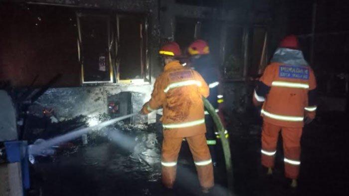 Ruang Kampus Universitas Brawijaya Malang Terbakar, Api Melahap Ruang Lab Manufaktur Teknik Industri