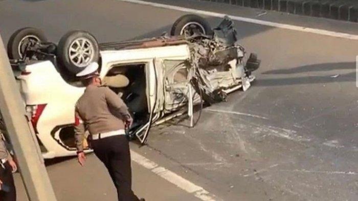 Kecelakaan Tragis di Tol JORR Meruya, Pengemudi BMW Picu Tabrakan Beruntun 4 Kendaraan, Diduga Mabuk