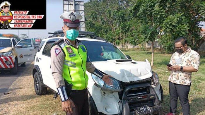 Kecelakaan Beruntun 3 Mobil di Tol Waru, Pengemudi Diduga Abaikan Jarak Aman, Ini Kronologinya