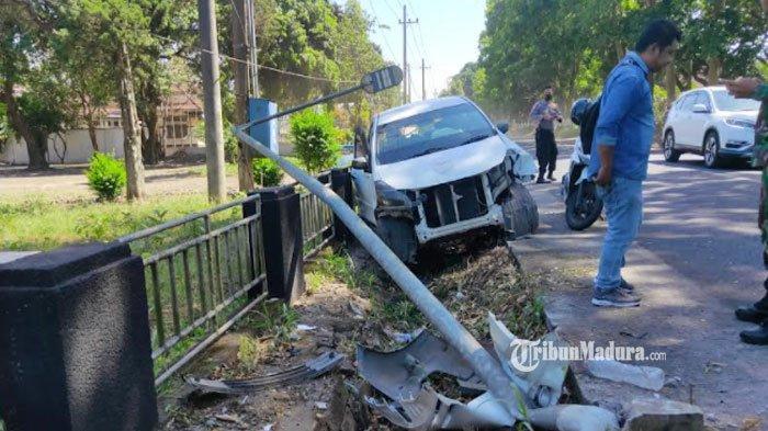 Kronologi Kecelakaan di Malang, Mobil Sempat Ditabrak Kendaraan Lain Setelah Hantam Tiang Listrik