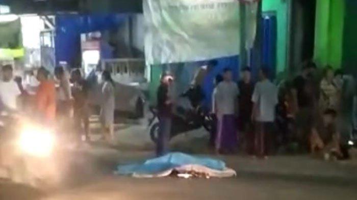 Tragedi Kecelakaan Maut Malam Jumat di Gresik, Pasutri Terpelanting ke Aspal, Istri Tewas di Lokasi