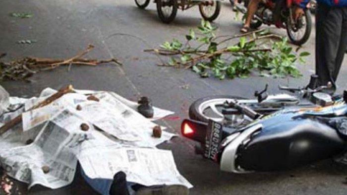 Sepasang Kekasih Tewas Usai Kecelakaan Maut, Motor Korban Tergelincir dan Terjatuh Lalu Masuk Jurang