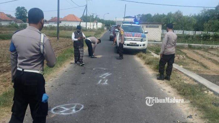 Tiga Motor Terlibat Kecelakaan Adu Moncong di Proppo Pamekasan, Seorang Pengendara Tewas di Lokasi