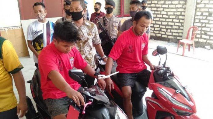 Dua Penjual Sepeda Motor Bodong via Facebook Ditangkap Polres Sampang, Polisi Menyamar Jadi Pembeli