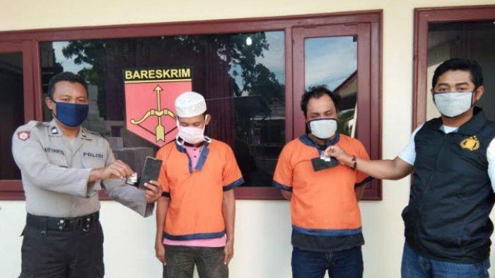 Bukannya Diam di Rumah, Dua Warga Gresik Malah Transaksi Sabu di Tengah Pandemi Covid-19