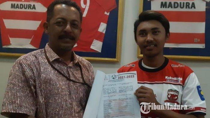 Madura United Resmi Kontrak Empat Pemain Muda Jebolan MUFA, Berharap Bisa Jadi Pemain Profesional