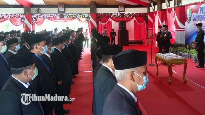 Awal tahun, Bupati Sampang Mutasi Ratusan Pejabat di Wilayah Pemerintahan Kabupaten Sampang