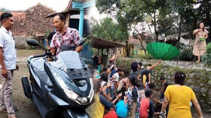 Mendadak Kaya, Kelakuan Warga di Kuningan Disambut Gembira Tetangga Sekitar, Menunggu Saweran