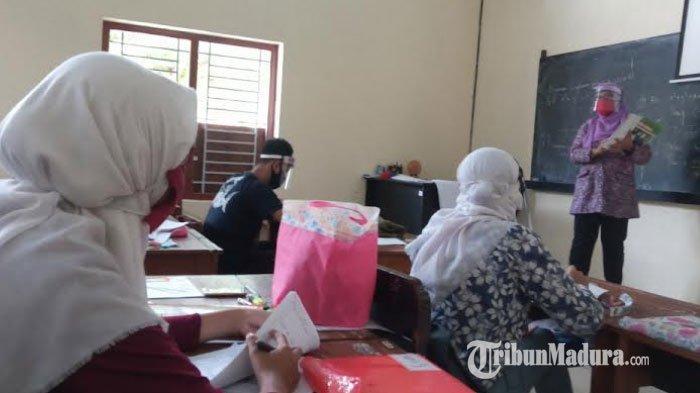 3 SMA/SMK di Sampang Uji Coba Belajar Tatap Muka, Berisiko Kecil Jadi Tempat Penyebaran Covid-19