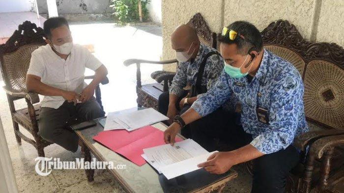 DPMPTSP Bangkalan Berikan Pemahaman ke Pelaku Usaha Soal Pentingnya Kelengkapan Dokumen